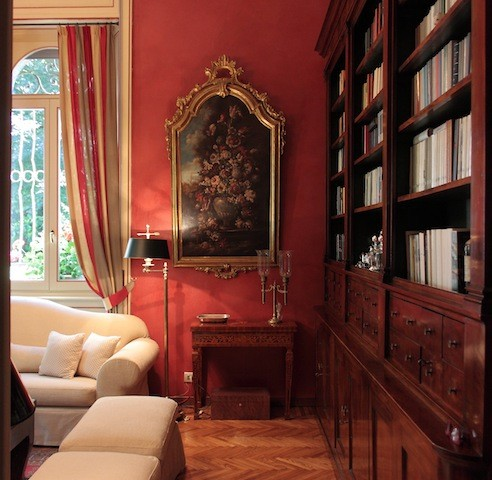 INTERIORS: VILLA LIBERTY IN CAMPAGNA